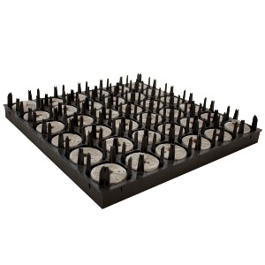 Jiffy -7 Large 50mm x 95mm Peat Plug (36 Per Air-pruning Tray)